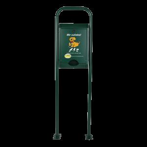 Standard-Combi ohne Abfallbehälter in RAL 6005 Moosgrün