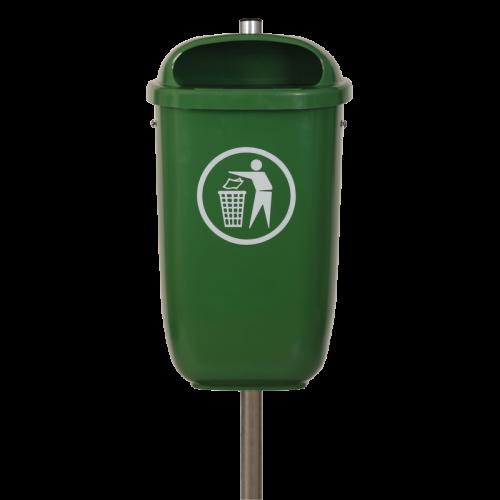 Abfallbehälter Flexi in 6002 Laubgrün lt. DIN 30713