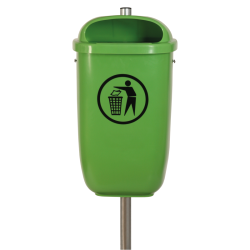 Abfallbehälter Flexi in 6017 Maigrün lt. DIN 30713