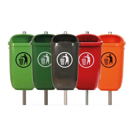 Abfallbehälter Flexi in 5 Farben