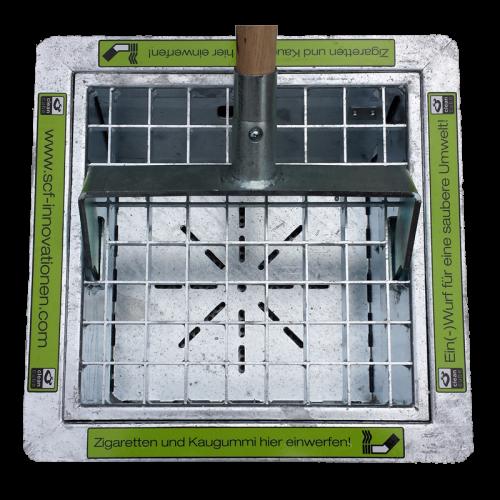 Clean Cube 300 mit Entleerungsgabel